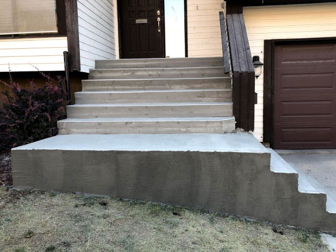 All about Concrete Steps